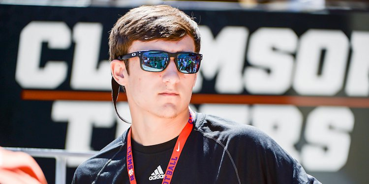 Potter at Clemson's spring game