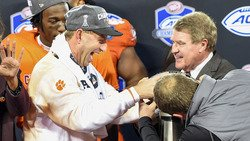 Thunderstruck: Swinney has built a monster in the foothills of South Carolina