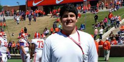 "Four-star OL wraps up a ""great, great visit"" to Clemson"