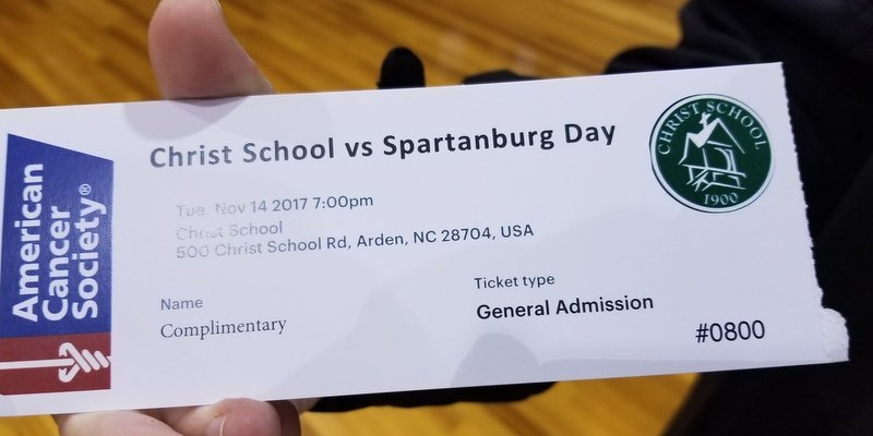Tickets were hard to come by for Tuesday's game