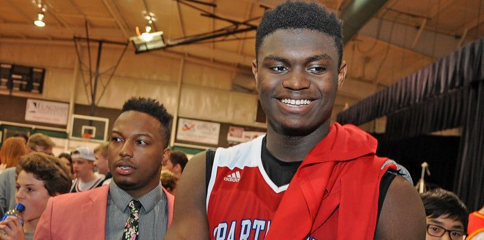 Zion Williamson might be one of the prospects on hand