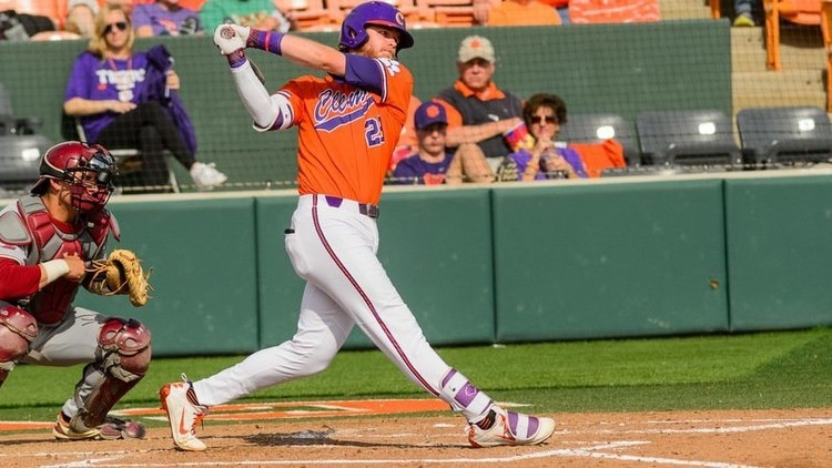 Seth Beer put Clemson on top early with his 12th home run of the year.