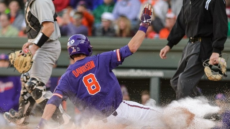 Clemson scored four runs in the fifth inning to take the lead and the bullpen held on to the win in the late innings.