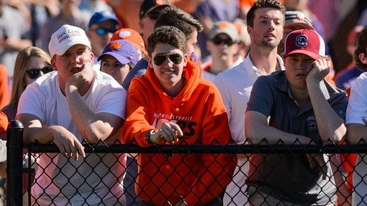 Clemson receives state approval for spring sports fan attendance