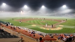 Tigers get out the brooms, sweep Yellow Jackets in foggy nightcap