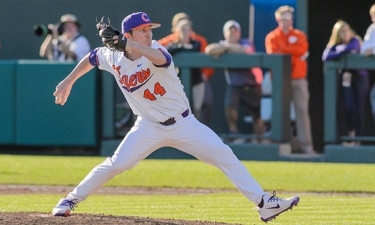 Former Clemson pitcher added to MLB player pool