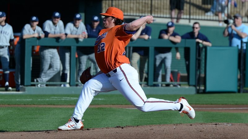 Williams and Hennessy lead No. 11 Clemson in rout of No. 10 Dallas Baptist