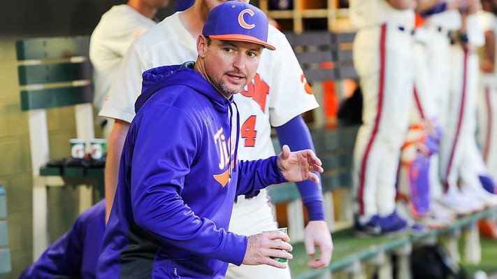 Lee and the Tigers moved indoors for Tuesday's practice
