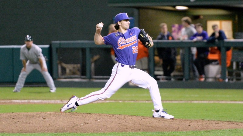 Spencer Strider picked up the first win of his Clemson career