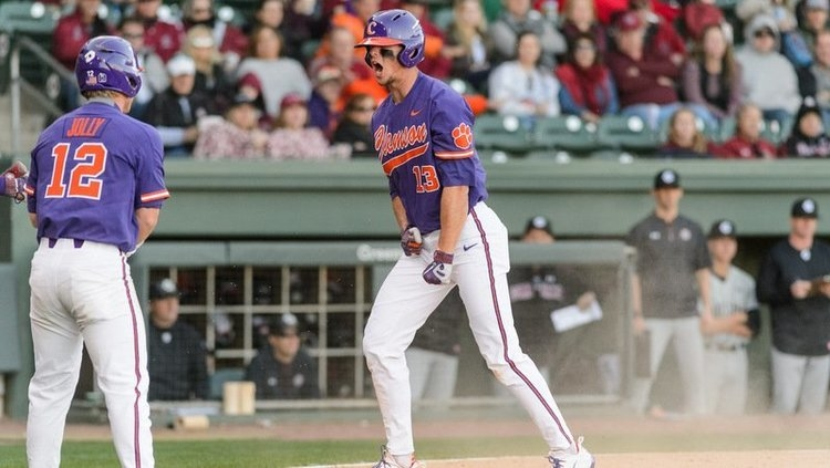 Clemson OF selected in MLB draft
