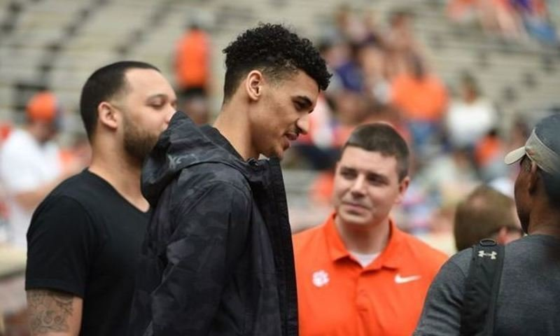 Baehre visited during Clemson's spring game on Saturday.