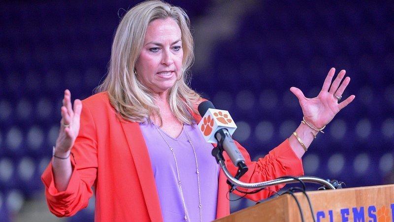 Amanda Butler was named women's basketball head coach Friday afternoon