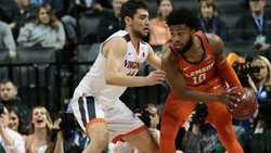 No. 1 Virginia too much for the Tigers in ACC semifinals