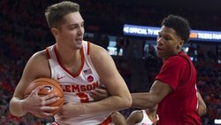 Clemson forward to miss game against UNC
