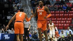 Sweet 16 Party! Clemson advances to Sweet 16 with rout of Auburn in NCAA's