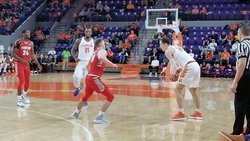 Thomas' big second half leads Tigers past Radford