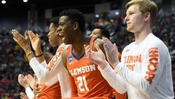 Clemson prepares for Sweet 16 matchup with Kansas