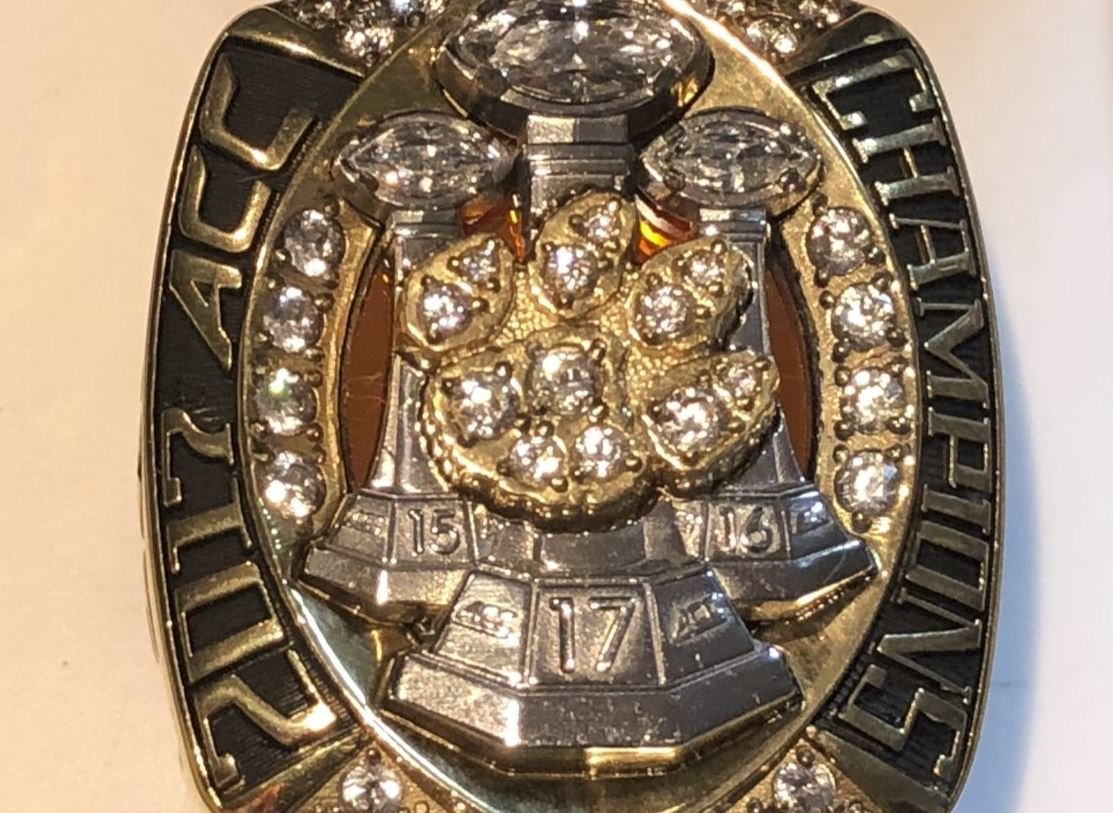 LOOK: Clemson 2017 ACC Championship ring