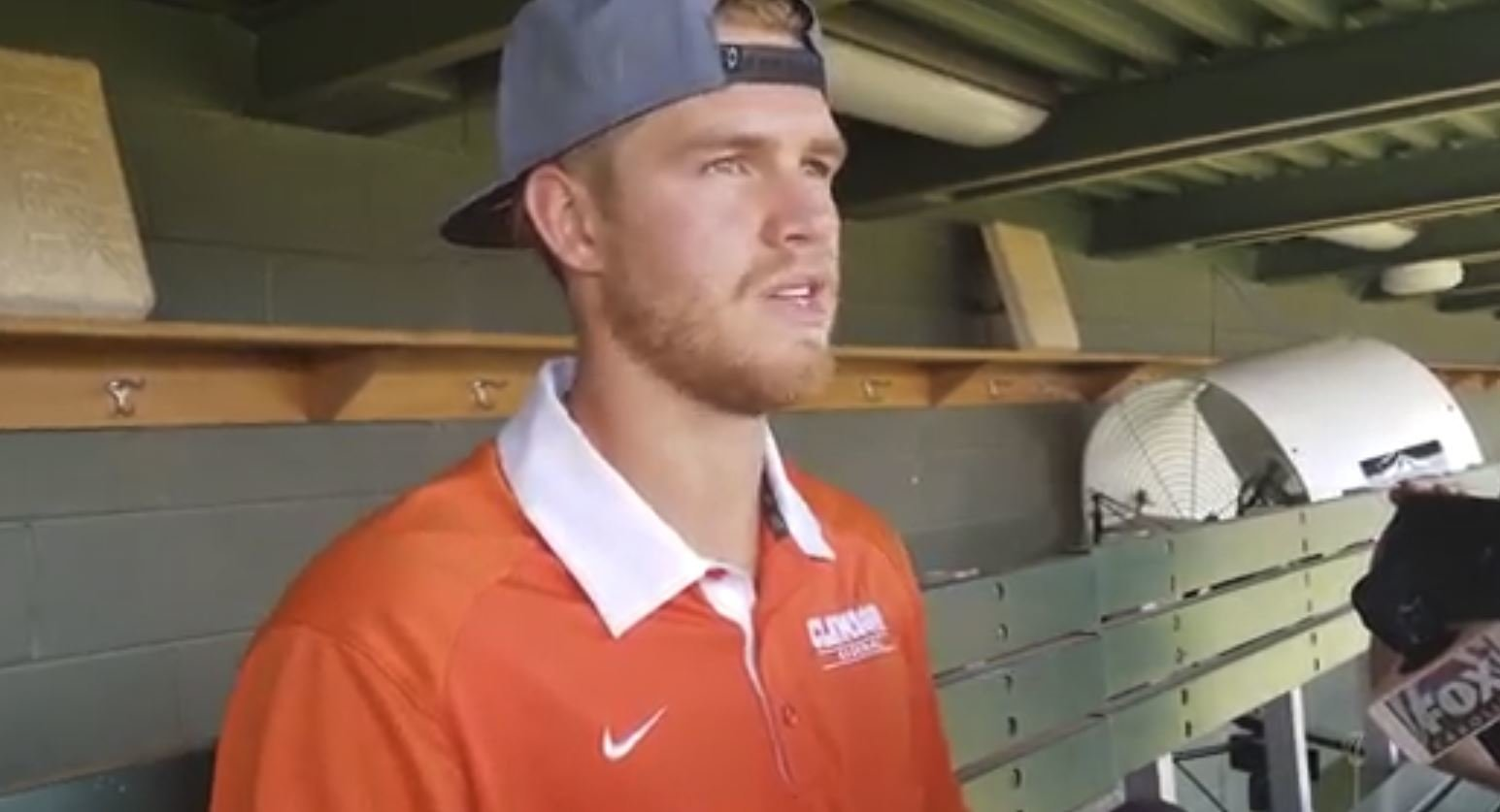 WATCH: Seth Beer talks MLB first-round selection