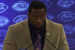 WATCH: Ferrell gives impressive performance at ACC Kickoff