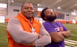 WATCH: ESPN feature on Clemson's 'Fridge Package'