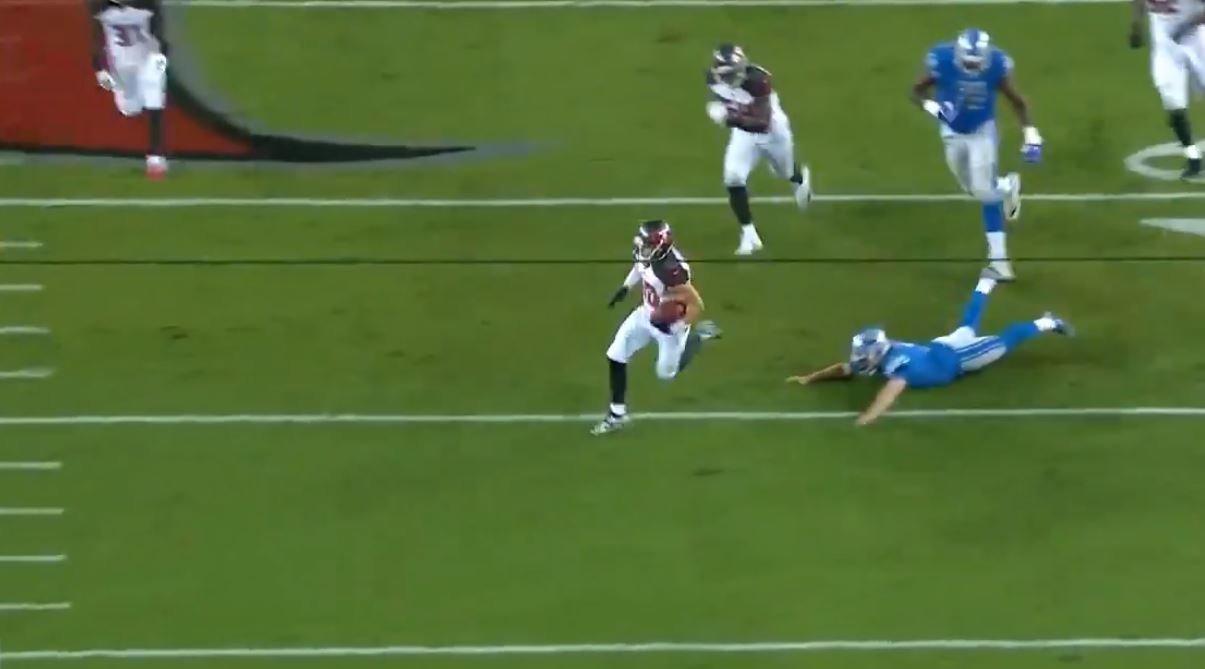 WATCH: Former Clemson WR returns FG attempt for 109-yard TD