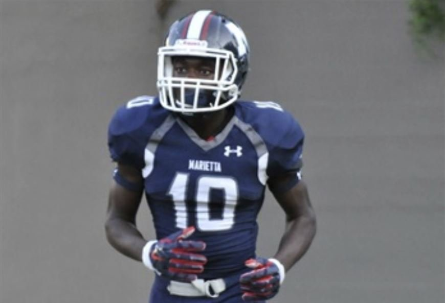 Clemson among top schools for 4-star WR