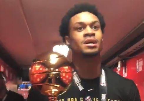 K.J. McDaniels wins NBA Summer League Finals MVP
