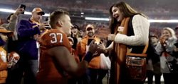 WATCH: Clemson football player proposes after SC game