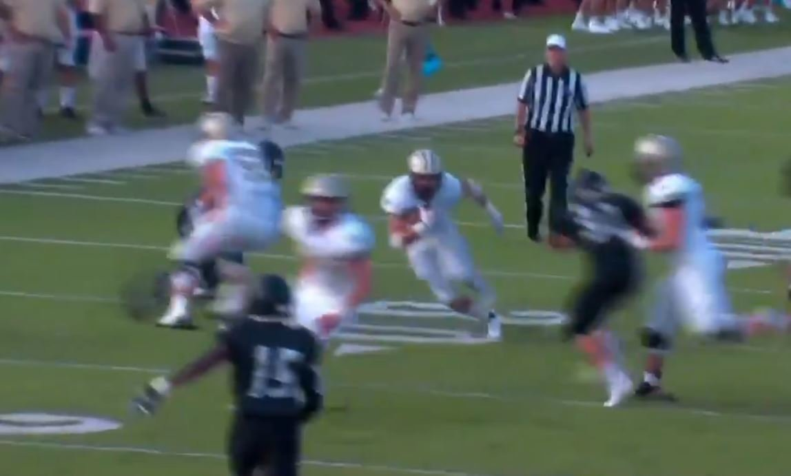 WATCH: Clemson WR commit catch, run for TD in big night