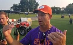 WATCH: Swinney updates QB battle in Monday practice report