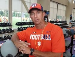 WATCH: Dabo Swinney Clemson practice report, injury updates