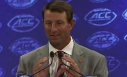 WATCH: Dabo Swinney's full comments from ACC Kickoff with transcript