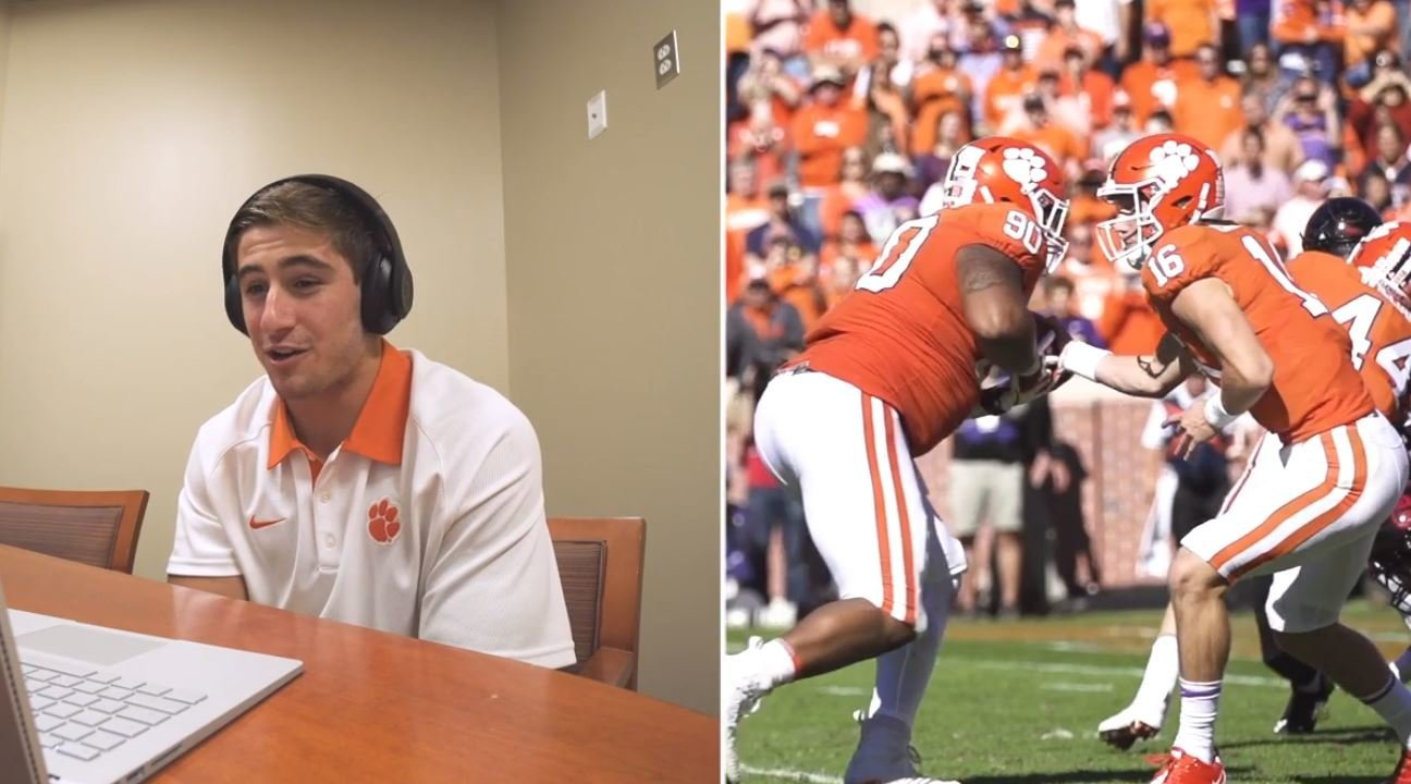 WATCH: Tigers reacting to Clemson's 77-16 win over Louisville