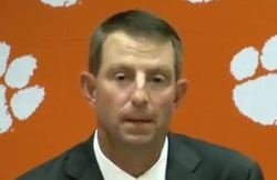 """Swinney on win: """"It's one that I'll probably never forget"""""""