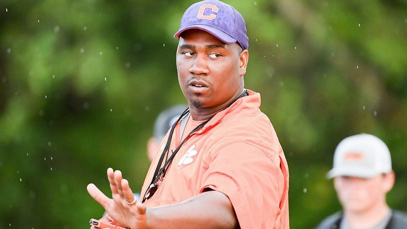 Bates has had an outstanding first year on Clemson's staff