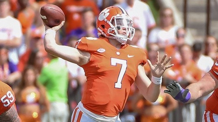 Brice says transferring has crossed his mind but wants to be great at Clemson