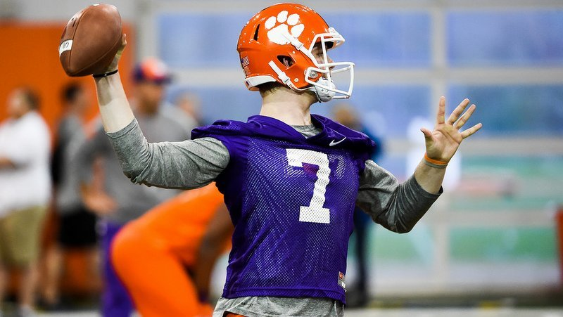 Chase Brice was a standout in Wednesday's scrimmage