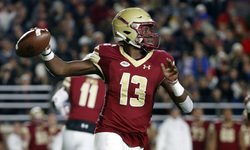 BC starting QB declared out for game