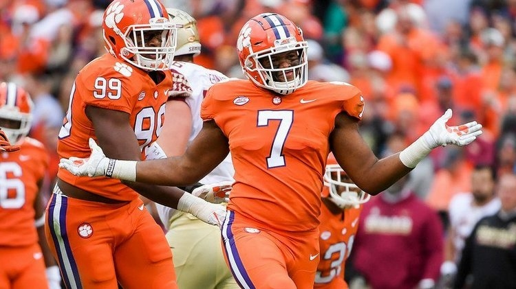 Ferrell projected to be the first Tiger off the NFL Draft Board