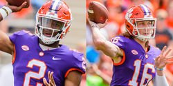 Swinney says if Bryant and Lawrence are even, the senior will get the nod
