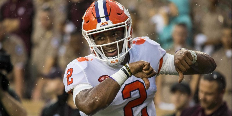 Kelly Bryant did enough to propel Clemson to the win (Photo by Jerome Miron, USAT)