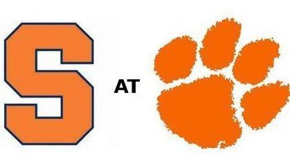 Clemson hosts Syracuse Saturday at noon