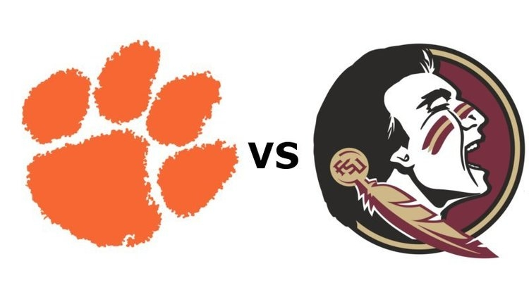 Clemson and FSU kick off at noon.