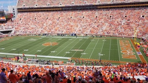 LIVE from Clemson, SC - Clemson vs. Georgia Southern