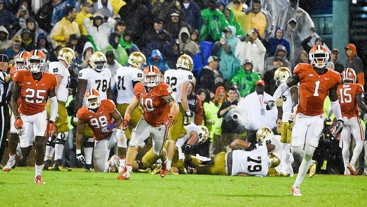 Clemson has fond memories of playing Notre Dame recently