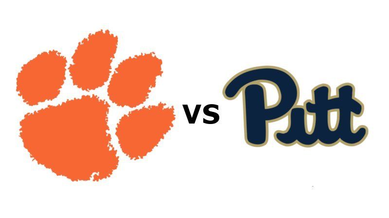 Clemson and Pitt kick off at 8 pm on ABC