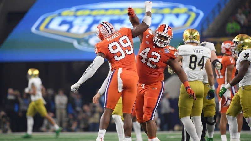 Second Look: Grading Clemson's Cotton Bowl win over Notre Dame
