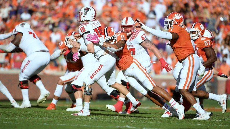 WATCH: Clemson-NC State game in 20 minutes