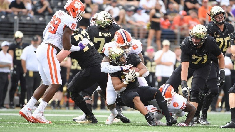 Clemson's defense held Wake without a touchdown